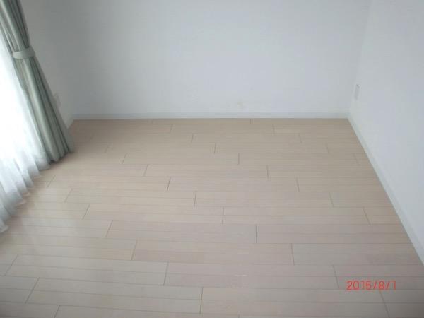 畳が無いフローリングの部屋