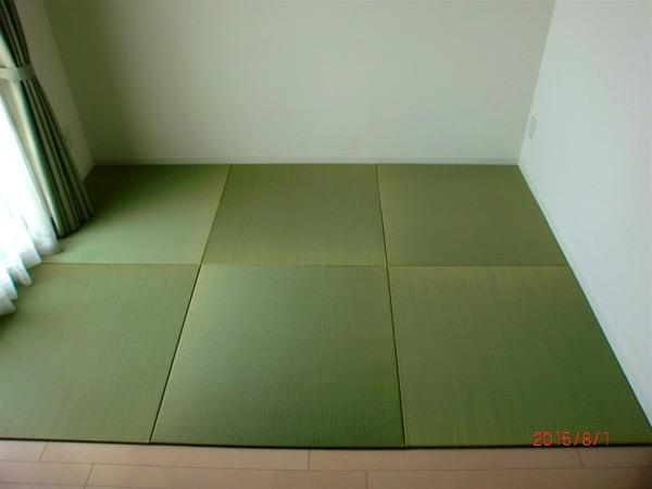 畳を敷いたお部屋