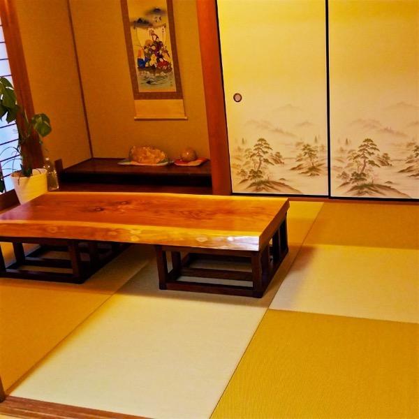 琉球畳の客間